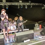 Roadhouse at the Cambridge Rock Festival - Photo by Howard Ranking