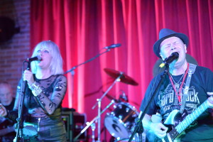 Gary & Mandie at Skegness 20 - Photo by Steve Du;ieu