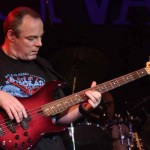 Bill Hobley on bass