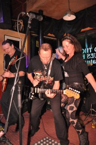 Rocking the Blues Bar - Photo by Steve Dulieu