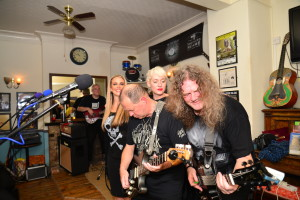 At the Wrotham Arms - Photo by Steve Dulieu